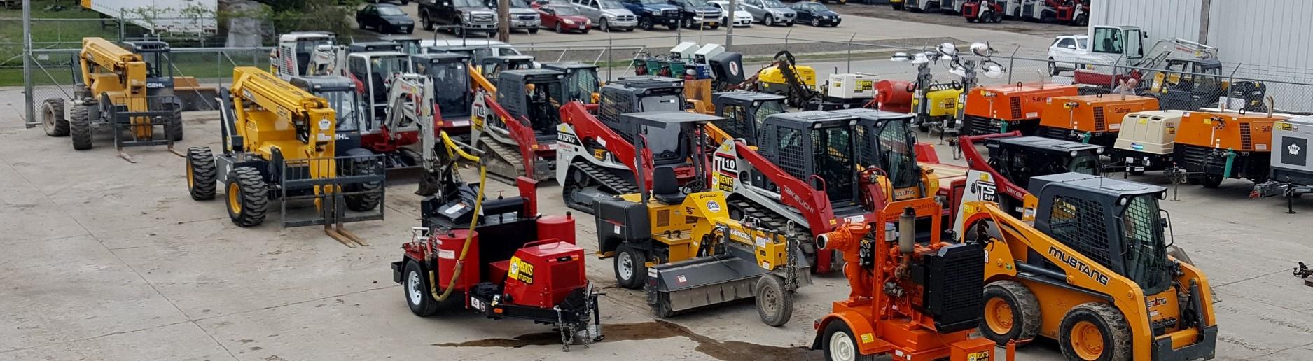 Equipment Rentals   Des Moines, Cedar Rapids, Waterloo, Ames, IA